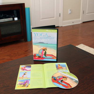 WAI LANA<sup>&reg;</sup> Yoga For Everyone-Flexibility - This DVD leads you through 50 minutes of beginner's yoga to help relieve back, shoulder and neck tension and firm, tone and stretch your entire body.